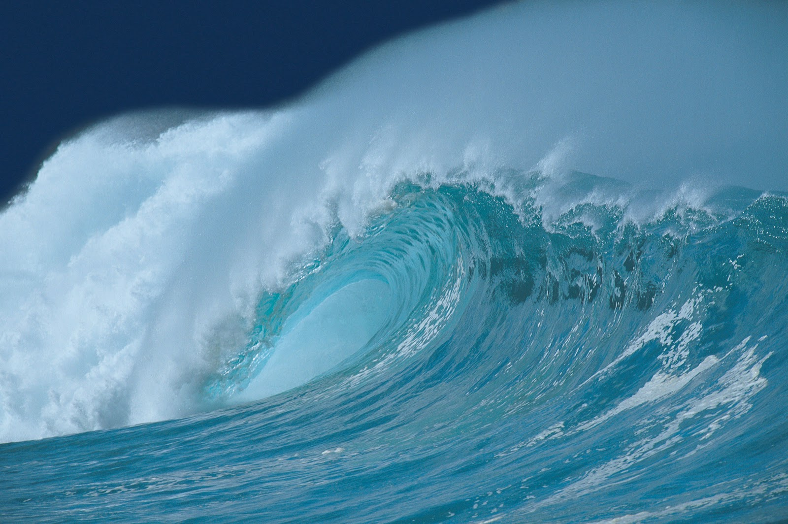 photo wallpaper powerful ocean waves my image