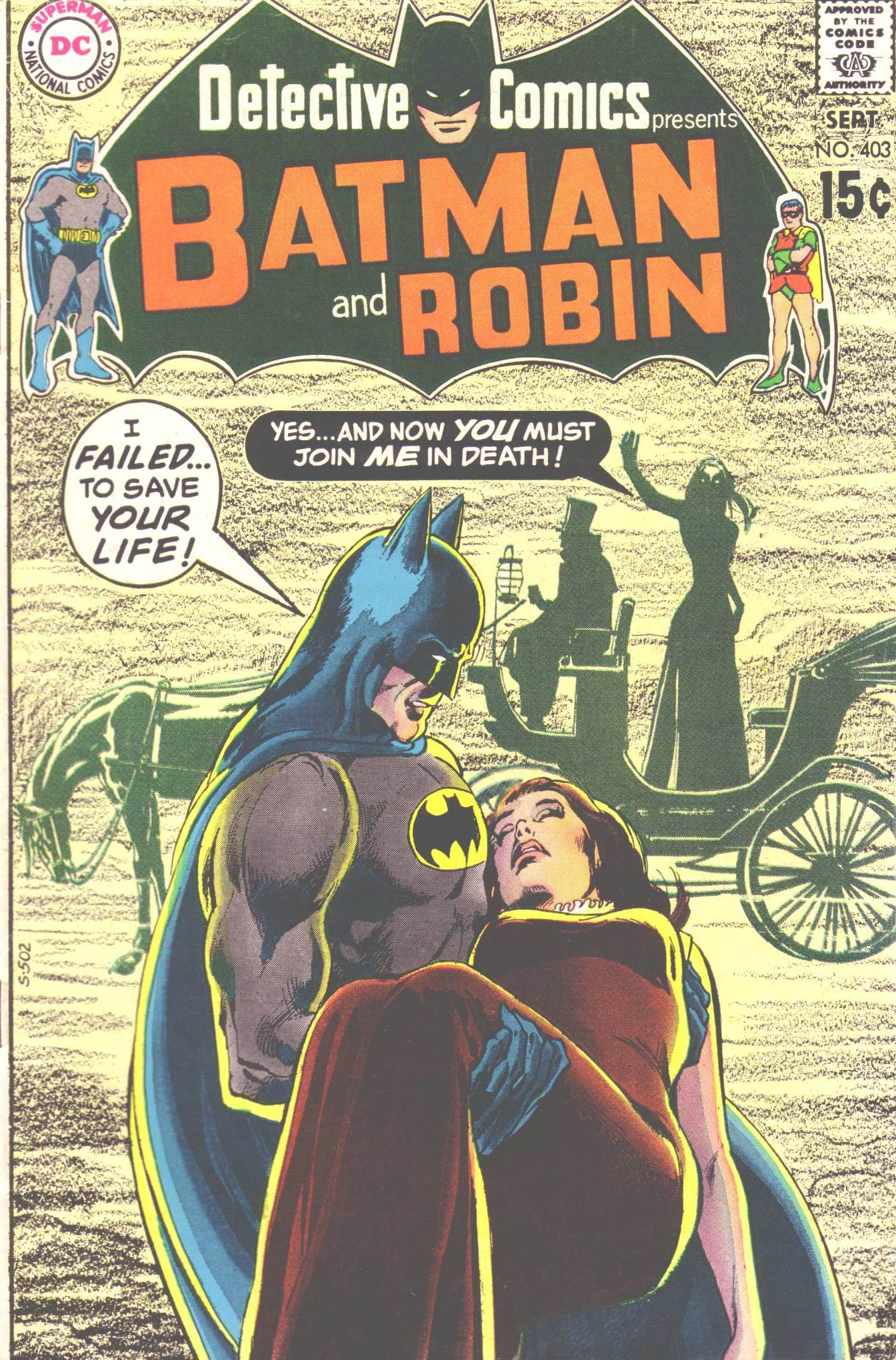 Detective Comics (1937) 403 Page 1