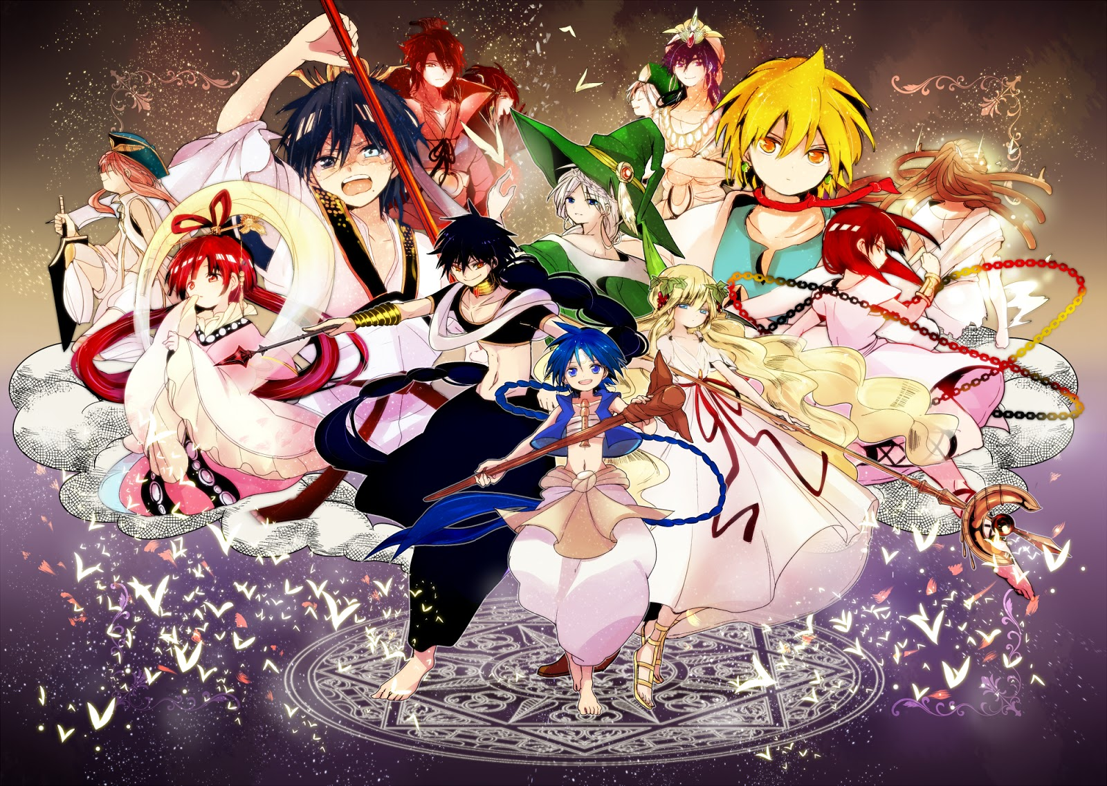 Wallpaper Magi: The Labyrinth of Magic