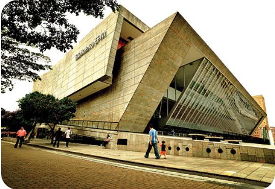 Estudio de caso biblioteca epm medell n for Biblioteca arquitectura
