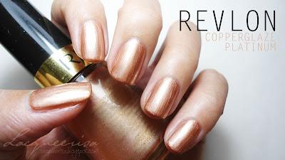 Revlon - Copperglaze Platinum