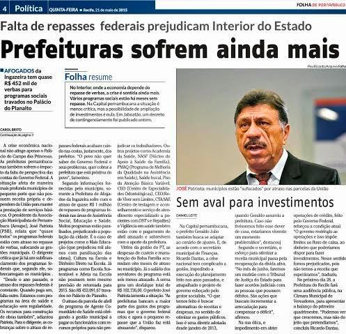 PREFEITURAS SOFREM AINDA MAIS....