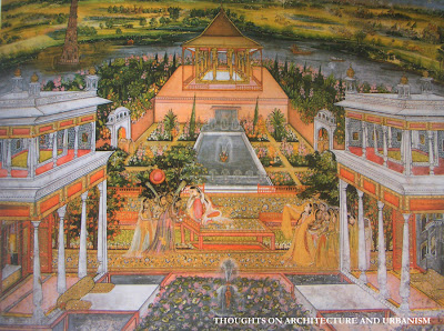 The ideal of the Islamic and Mughal garden