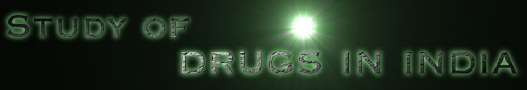 Study of Drugs in India