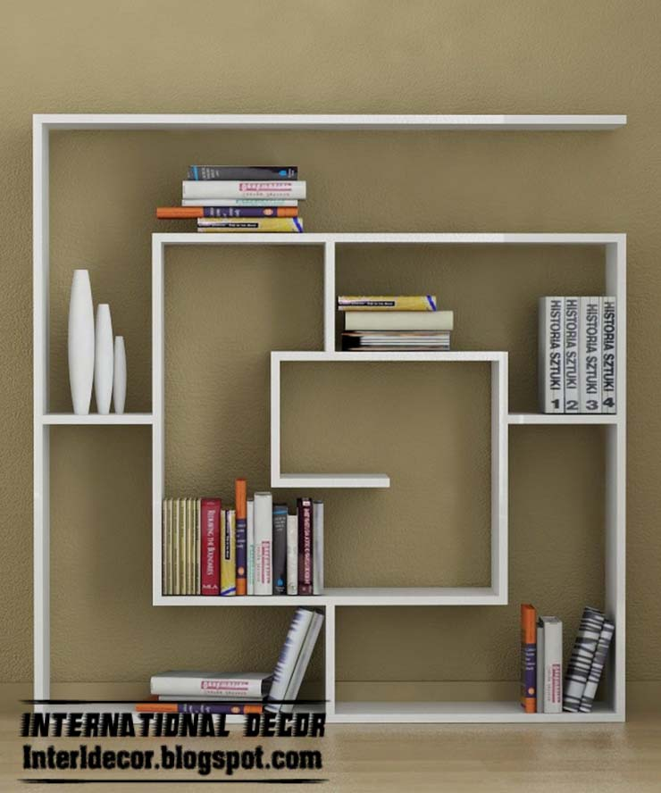 Bookshelves Ideas Simple Of Creative Wall Shelves Ideas Pictures