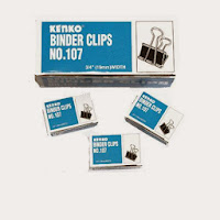 binder clip 107