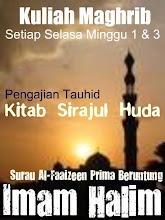 Imam Halim - K/Maghrib, Selasa Minggu 1 & 3