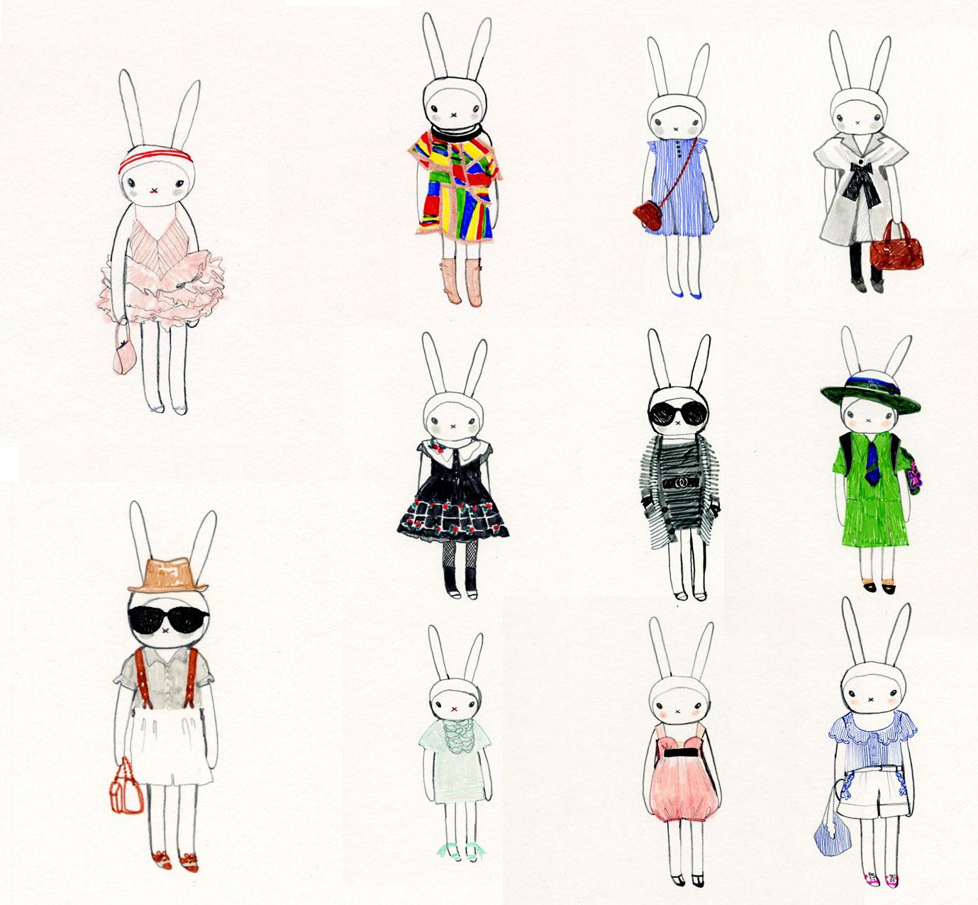Fashion illustration for kids 98
