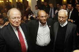 Ghannouchi et Ben Jaafar