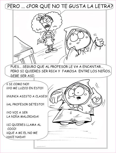 HISTORIETAS DE CHOMPITA ROJA