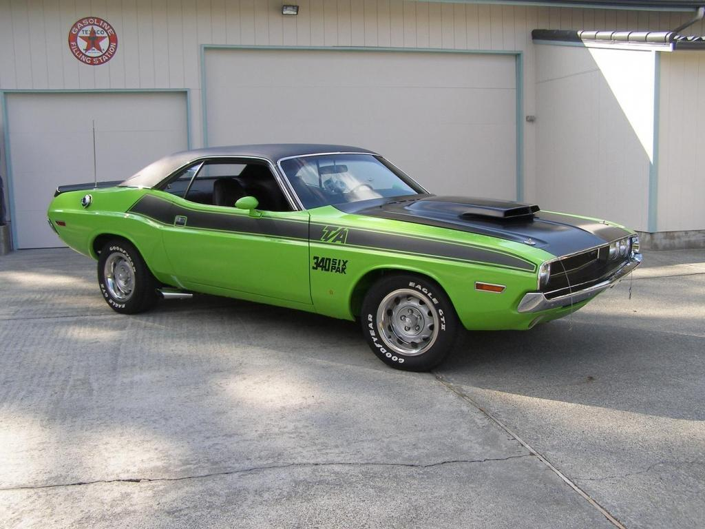 Classic Car Posters: Plymouth Barracuda