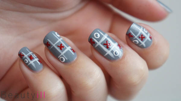Diy Nail Art Xoxo Valentines Day Beautyill