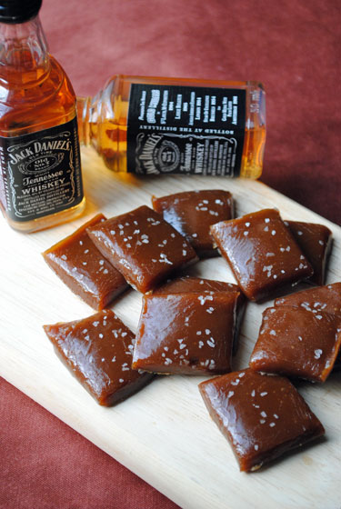 Sunday Shout-Out: Salted Whiskey Caramels
