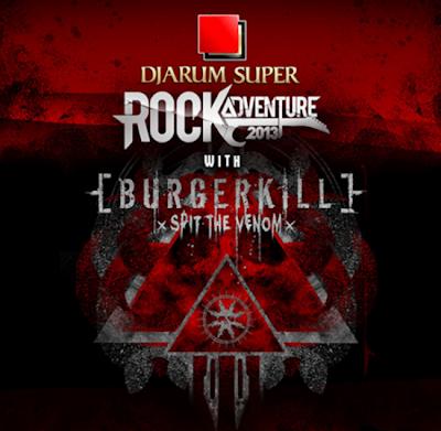 Konser DS RockAdventure 2013 bersama Burgerkill di Jogja Meriah