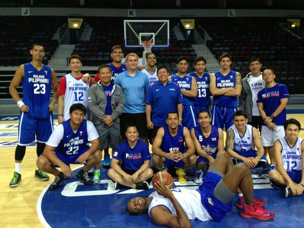 GILAS PILIPINAS - Philippines men's national basketball team in Lithuania (VIDEO)