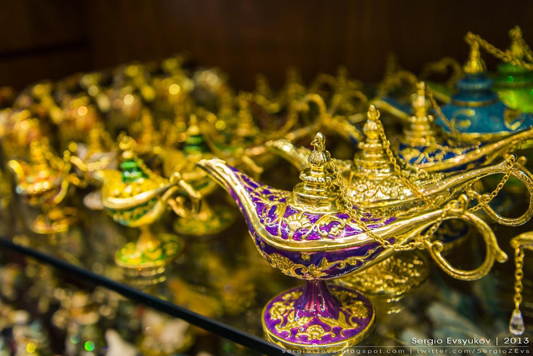 Сувенирная лавка в Дубае