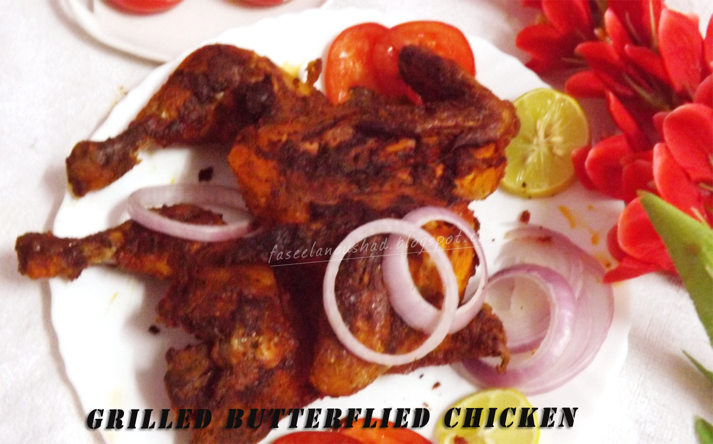 GOOD FOOD ENDS WITH GOOD TALK: Grilled Butterflied Chicken