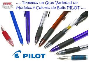 .... GRAN VARIEDAD EN BOLÍGRAFOS PILOT ...