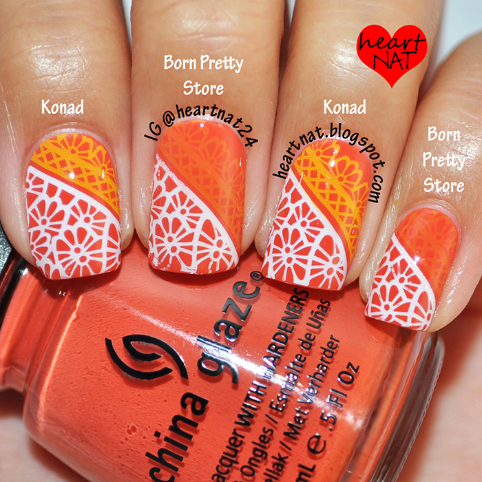 Nail Cake Born Pretty Store Review: Heartnat: Born Pretty Store--Stamping Polish Review