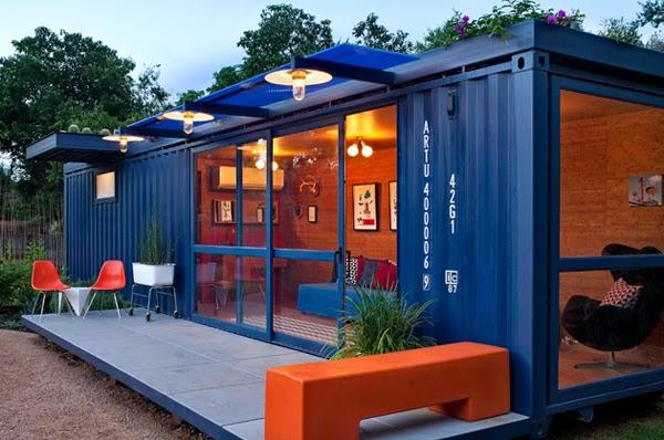 Pienso luego legohaus casas comercios y hoteles hechas en base a contenedores - Casas hechas de contenedores ...