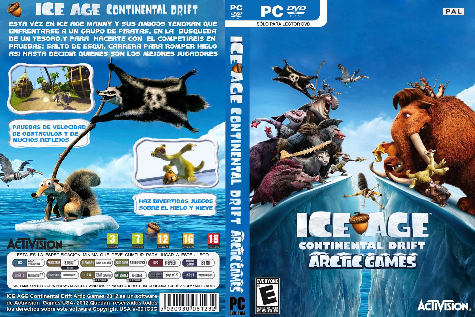 all best picos: ice age continental drift arctic games download full
