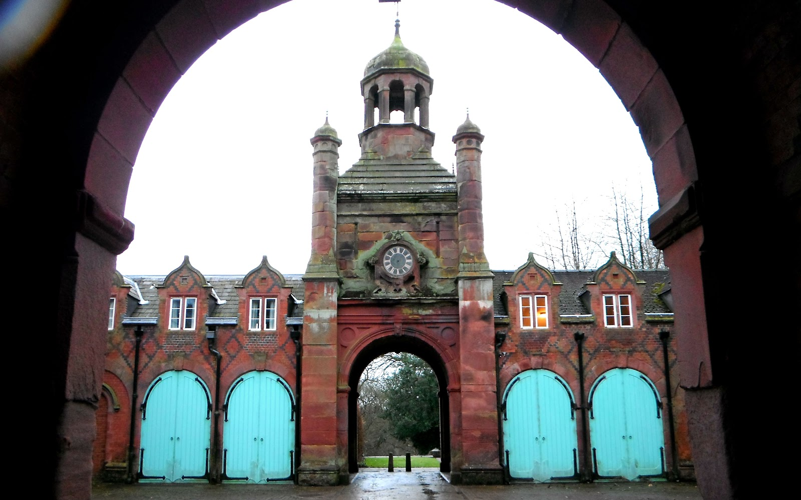 The University of Keele Clock House