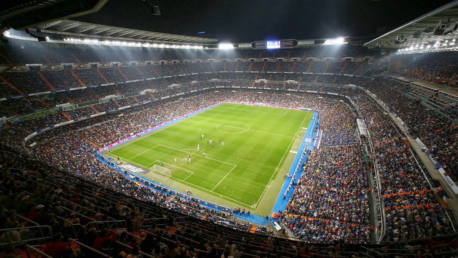Santiago Bernabeu Stadium Real Madrid Football Wallpapers HD