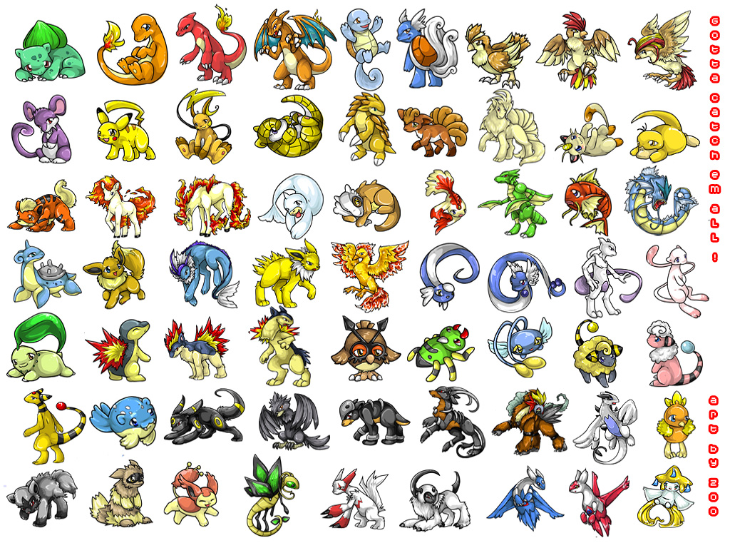 Pokemon Characters Images | Pokemon Images