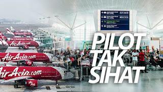 Beratus penumpang AirAsia terkandas di KLIA2