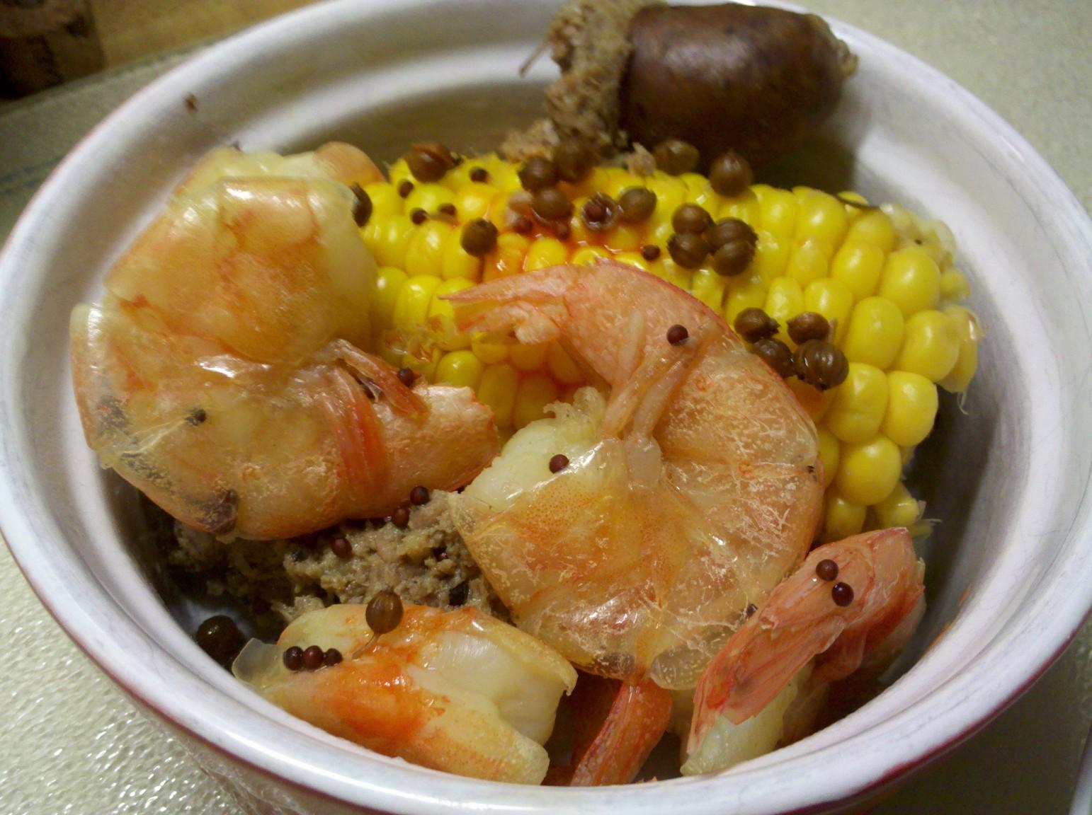 Piehole Midwest: Shrimp Boil Carolina Style: Recipe