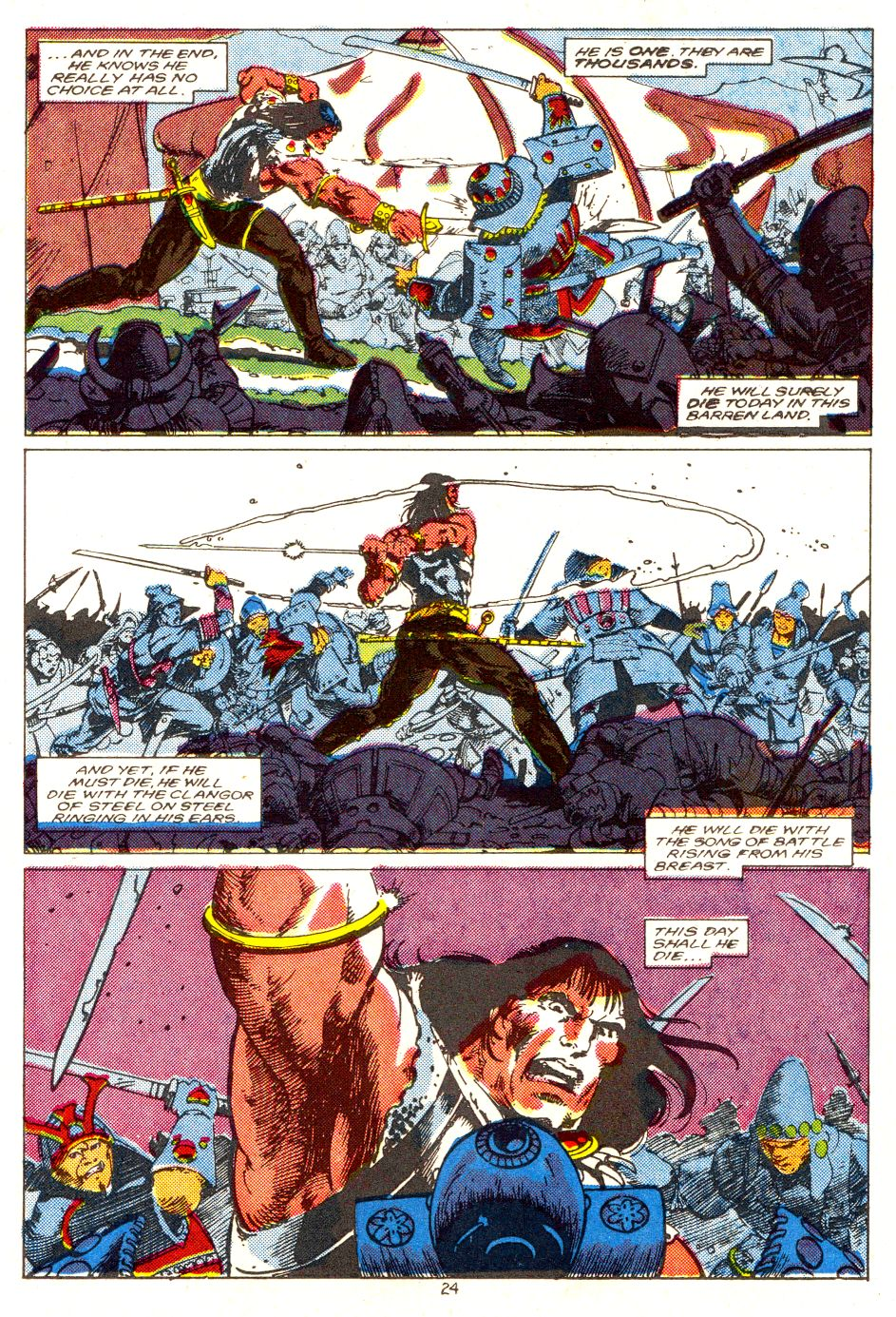 Conan the Barbarian (1970) Issue #207 #219 - English 19