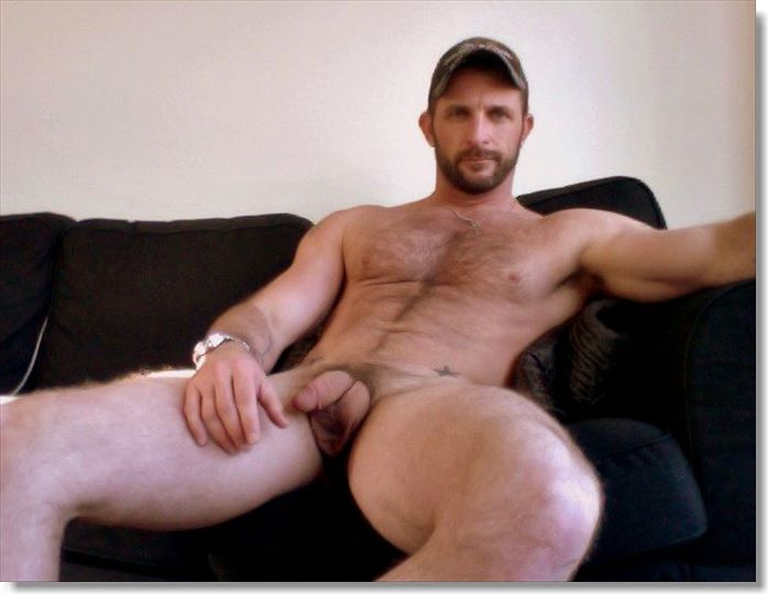 naked gay men hairy Handsome