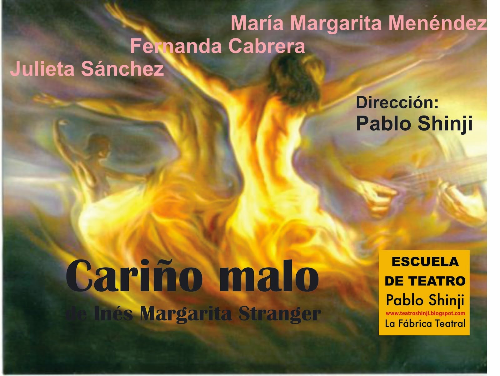 """CARIÑO MALO"" de Ines Margarita Stranger"