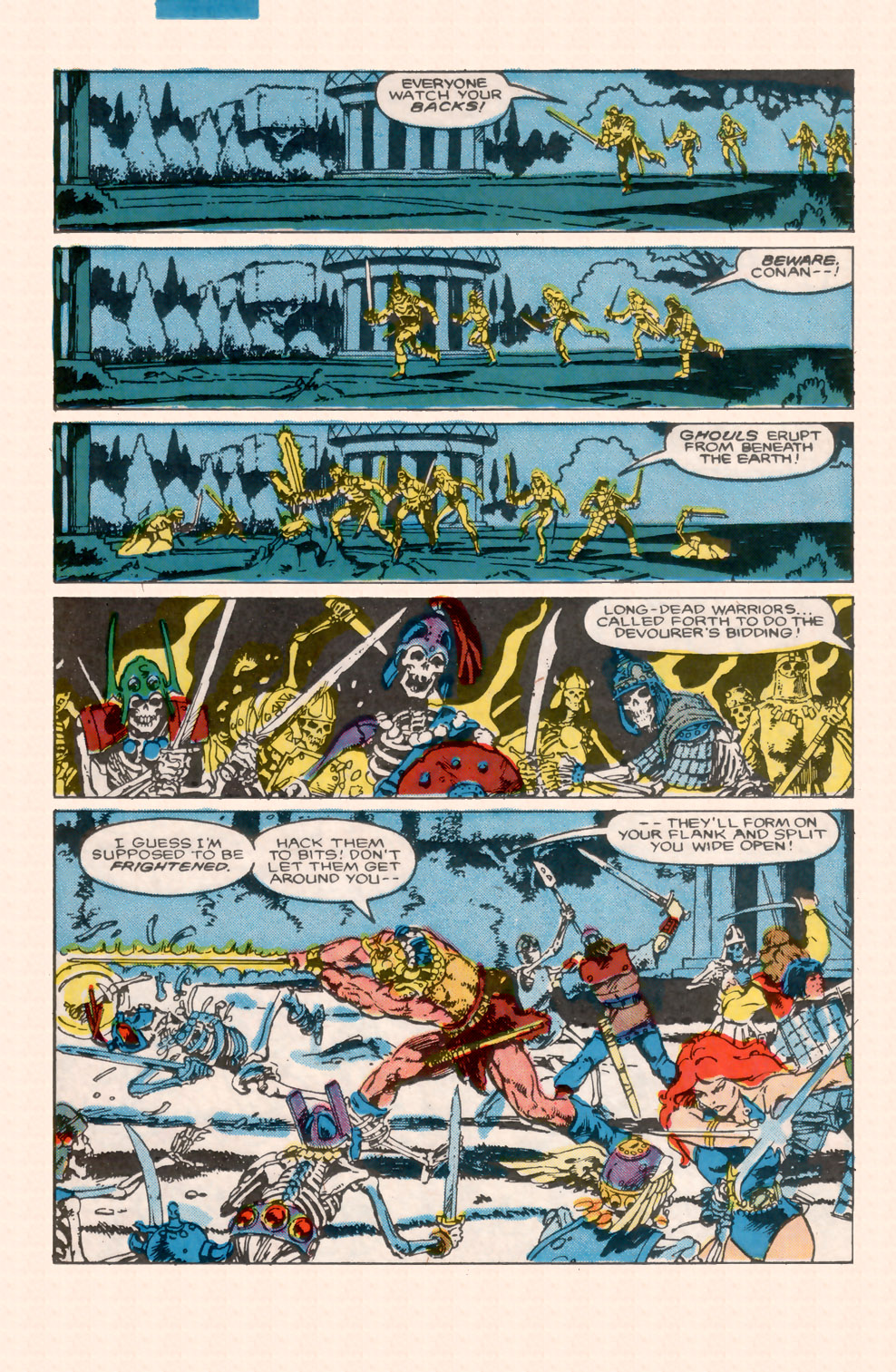 Conan the Barbarian (1970) Issue #200 #212 - English 28