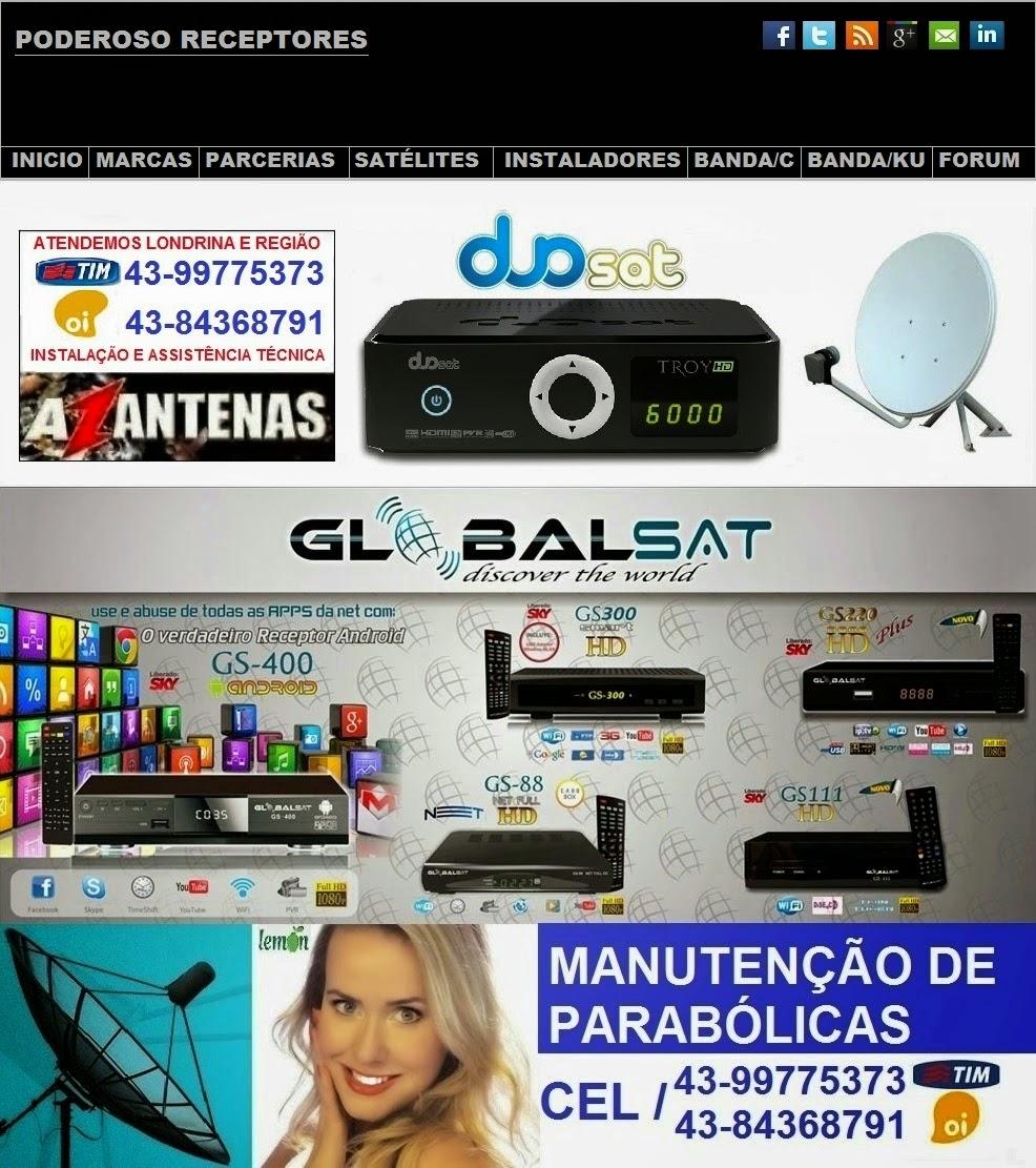 INSTALADOR DE ANTENAS 43-84368791- 99775373  EM LONDRINA ,cambé,azbox, azamerica,duosat,parabolicas