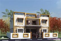 Eco Friendly Houses Box Type Tamilnadu House Design