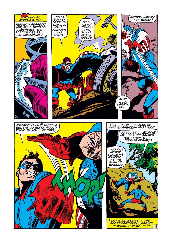 Captain America (1968) Issue #132 #46 - English 16