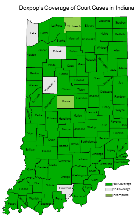 Doxpop Indiana Court Coverage MaP