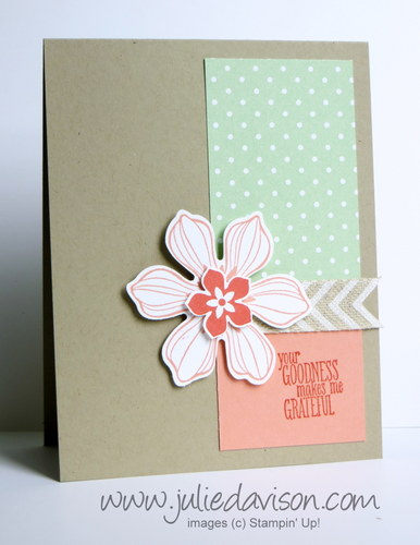 Stampin' Up! Beautiful Bunch Card