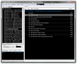 Foobar Main Black Interface