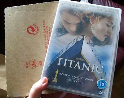 Titanic, DVD,