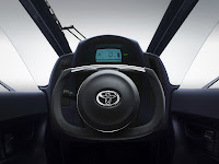 Toyota i-Road dash