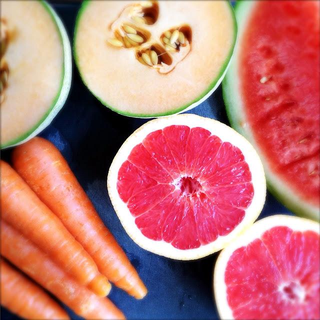 Oppskrift Ferskpresset Nypresset Hjemmelaget Verdens Beste Juice Melon Grapefrukt Gulrot
