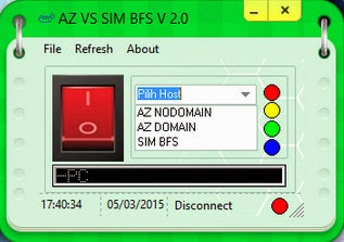 Inject Telkomsel AZ vs SIM BFS V2.0