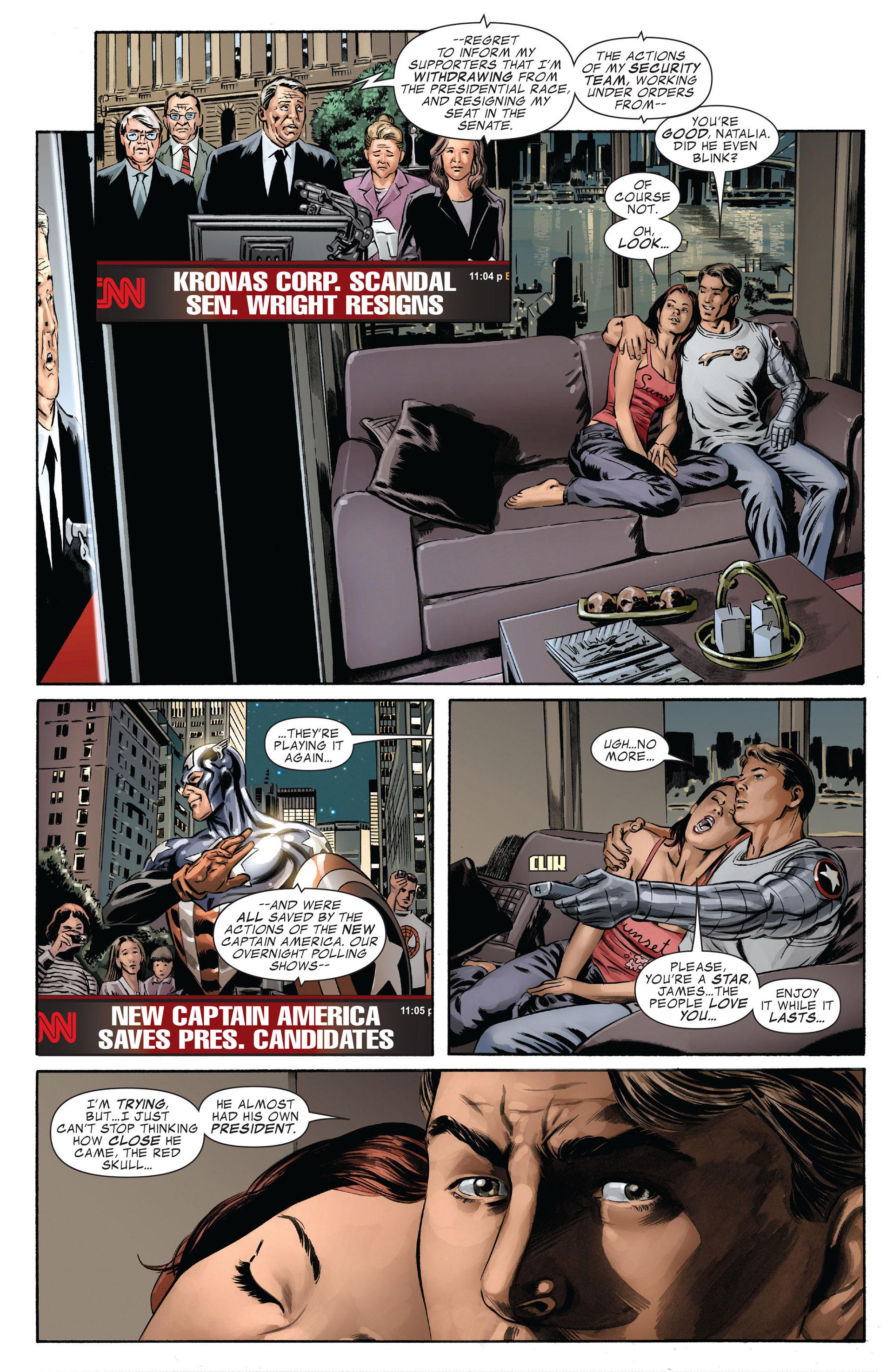 Captain America (2005) Issue #42 #42 - English 25