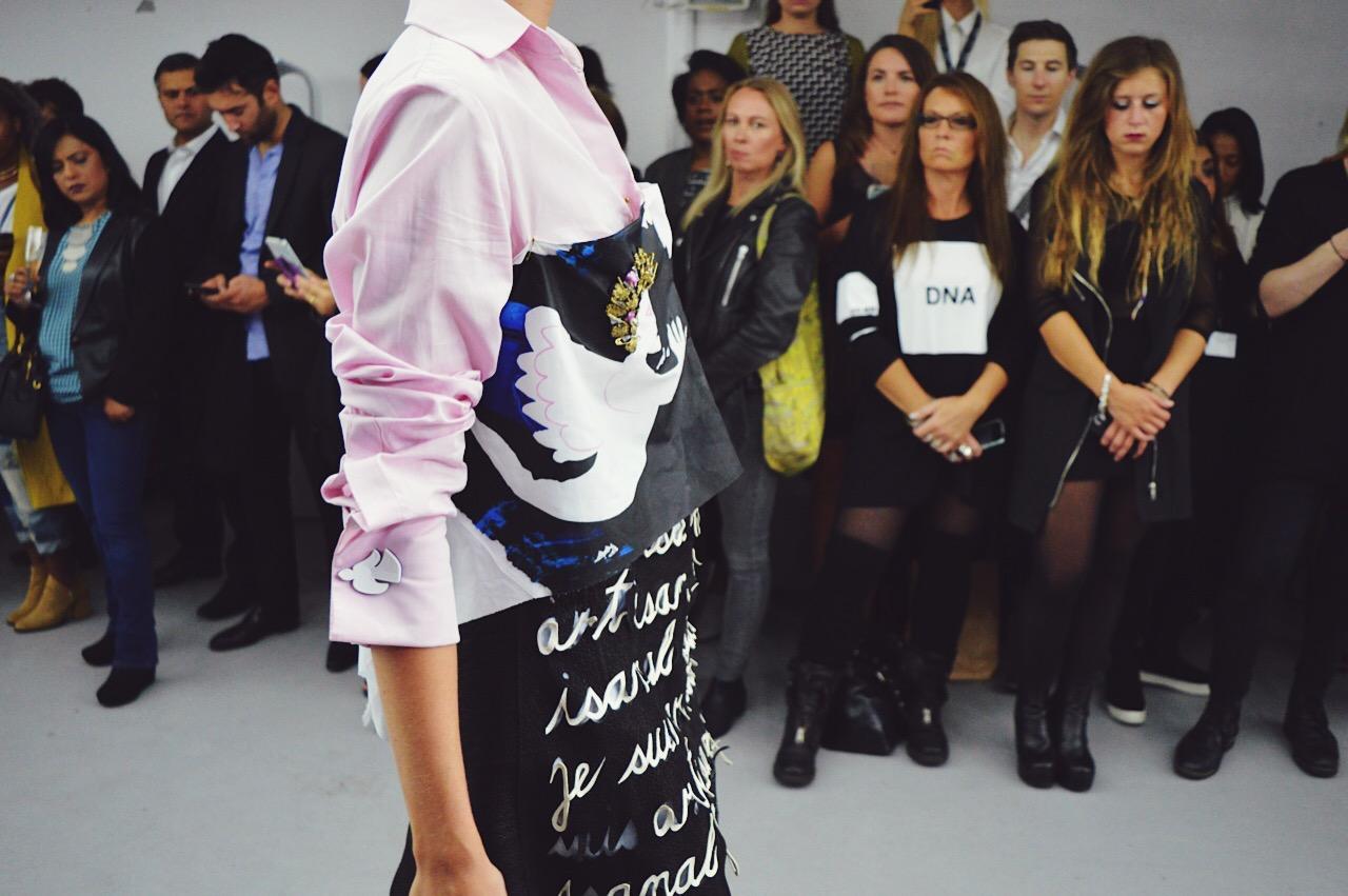 Marketa Martisova, London Fashion Week SS16, FashionFake, fashion bloggers