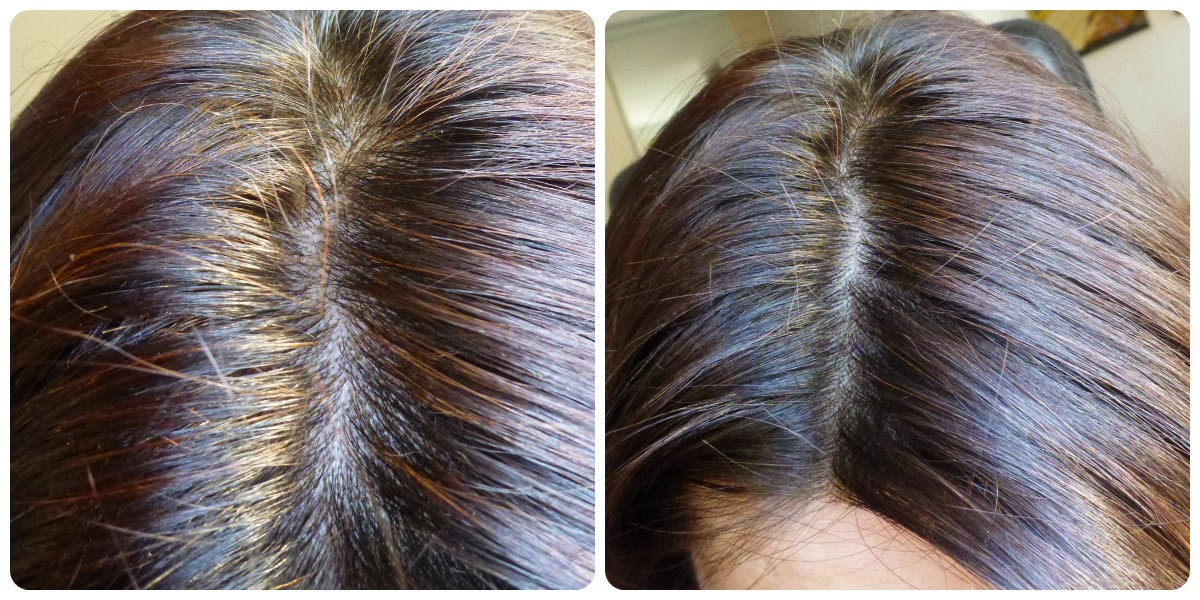 Henna na siwych włosach