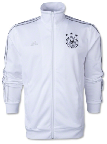 Jaket Jerman Track Top Putih World Cup 2014 Grade Ori