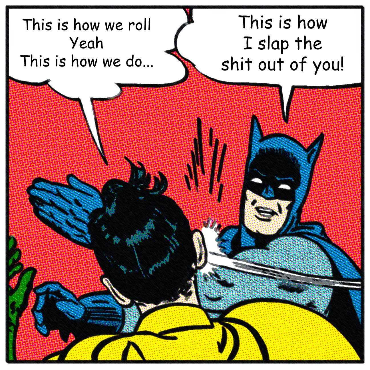 Farce the music batman vs robin re fgl for Farcical song
