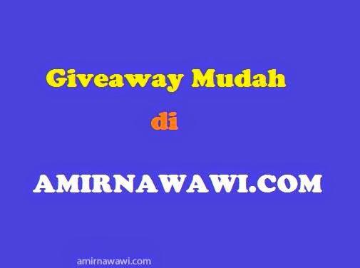 Giveaway Mudah amirnawawi.com